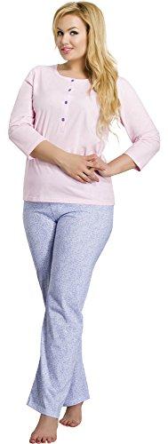 Merry Style Pijama para Mujer 2008 Rosa-3A