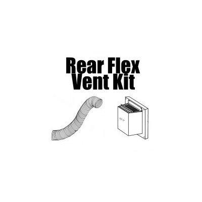 Napoleon Direct Vent Fireplace Top Vent Kit Size: 4 x 7 (5 Ft. Flex Vent)