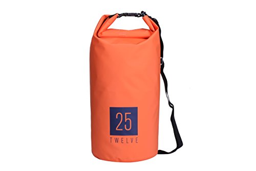 25Twelve Dry Bag - Durable and Waterproof: Best for Camping, Hiking, and All Watersports … (20L, (West Marine Inflatable)