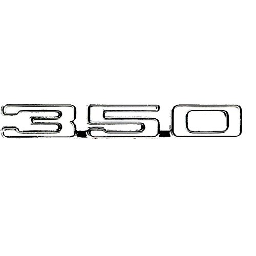 (Eckler's Premier Quality Products 33-178875 Camaro Fender Emblem, 350, Left,)