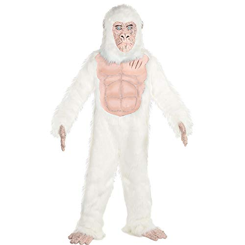 Costumes USA Rampage George Costume for Boys, Standard Size, Includes a Jumpsuit, a Mask, Gloves, and Shoe Covers]()