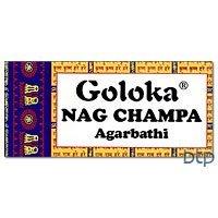 Goloka (Gold) Nag Champa Incense - 500 Gram Box - incensecentral.us