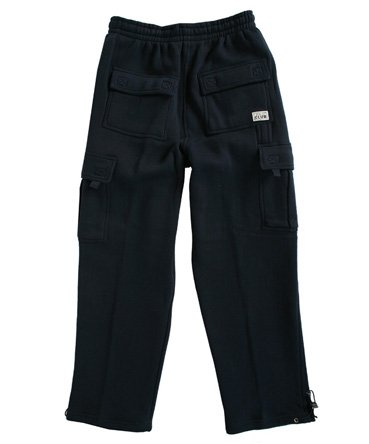 Pro Club Men's Fleece Cargo Pants Sweatpants - Navy Pro Club