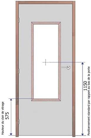 Suministro y colocación de oculus Vitrage Pyrobel 30 minutos 16-1200 x 400 mm EI30: Amazon.es: Bricolaje y herramientas