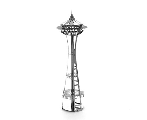 metal earth seattle space needle 3d model kit new