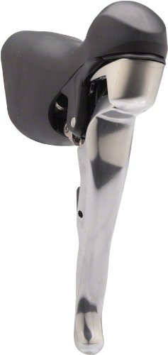 Shift Lever Unit (Shimano ST-5703 105 3-Speed Shift Lever, Silver)