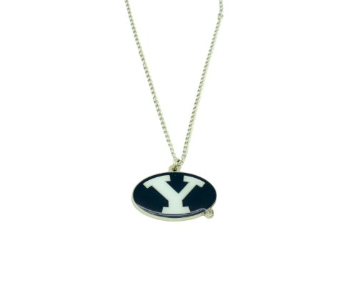 Logo Team Necklace - NCAA BYU Cougars Team Logo Necklace