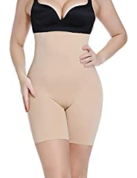 Womens High Waist Shaper Panty Butt Lifter Shapewear Tummy Control Panties Seamless Thigh Slimmer Cincher
