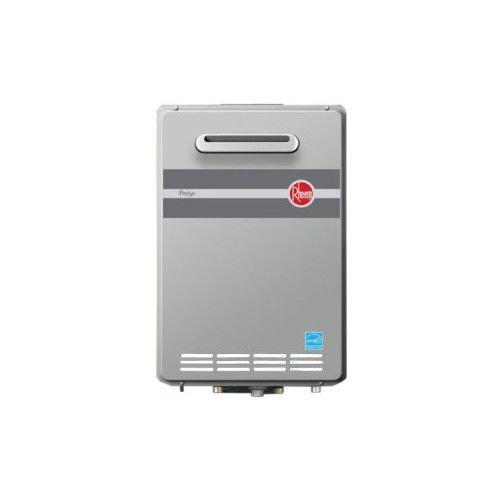 Energy Star Electric Water Heater - Rheem RTG-84XLP 8.4 GPM Low NOx Outdoor Tankless Propane Water Heater