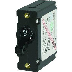 The Amazing Quality Blue Sea 7216 AC / DC Single Pole Magnetic World Circuit Breaker - 25 Amp