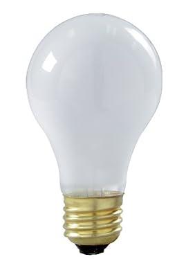 Satco 130-Volt 50-Watt A19 Medium Base Light Bulb, 2-Pack