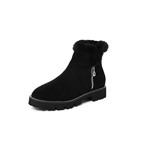 Winter Cotton Shoes Woman Thick-soled Snow Boots Short tube Martin Boots 34 lqYukaxSCt