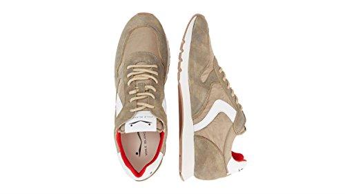 Sneaker Da Uomo Voile Blanche Beige
