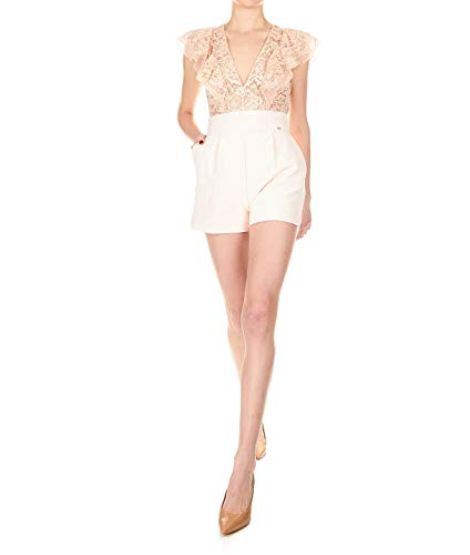 Tu17092e2350 Elisabetta Combinaison Rose Franchi Polyester Femme EwHgwf
