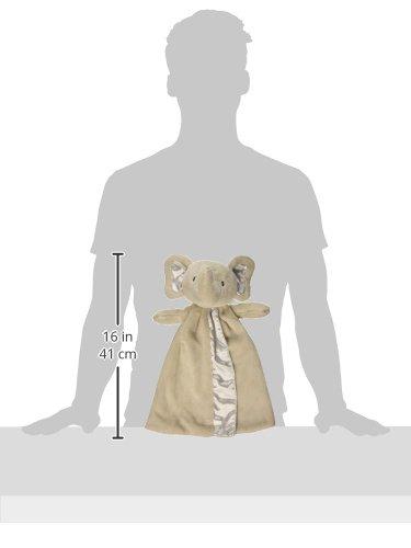 Gund Baby Bubbles Elephant Huggybuddy Blanket, Gray, 17'' by GUND (Image #2)