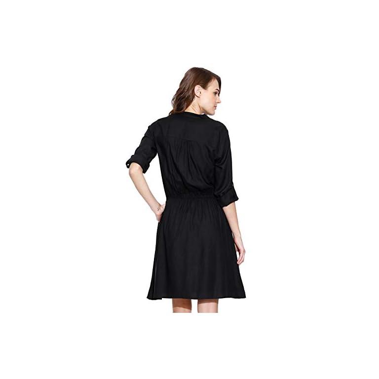 31BeL%2B3 RjL. SS768  - Amayra Women's Knee Length Dress.