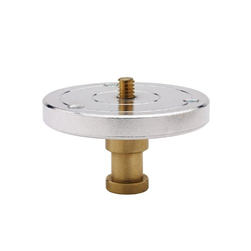 (Kupo 1/4 Inches-20 Threaded Mounting Plate with Baby 5/8 Feet Feet (16mm) Stud)
