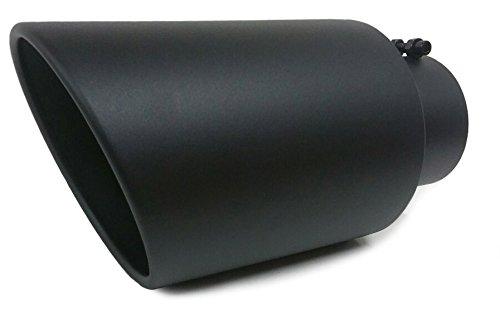 Temperature Black Coated Diesel Exhaust