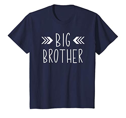 Kids Big Brother Shirt Future Big Brother TShirt Baby Shower Gift