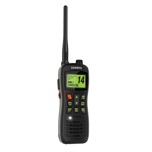 Uniden Jis8 Compact Floating Marine Handheld Vhf MHS75 by Uniden