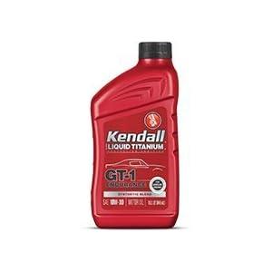 Kendall GT-1 Endurance 5w-20 w/Ti - 12/1 qt. Case