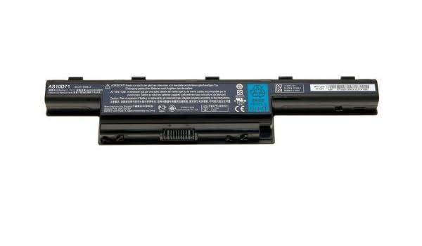 Original Packard Bell Batería de Ordenador Portátil 4400 Mah EasyNote LV44HC Serie: Amazon.es: Informática
