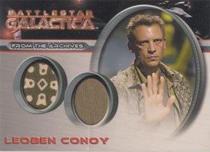 [Battlestar Galactica Season 1 DC1 Leoben Conoy Case Topper Costume Card] (Galactica Costumes)
