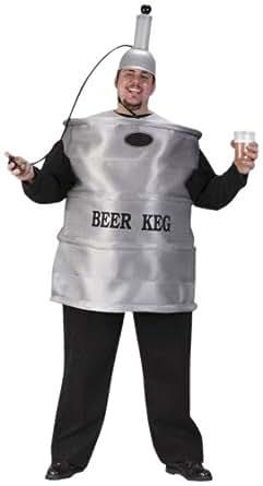 Image Unavailable  sc 1 st  Amazon.com & Amazon.com: FunWorld Menu0027s Beer Keg Costume: Clothing