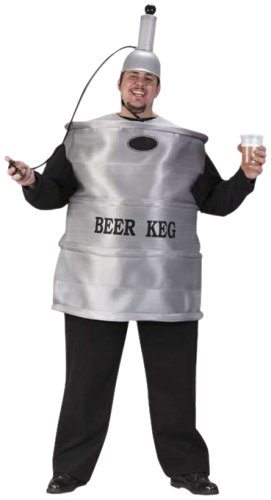 FunWorld Mens Beer Keg Costume
