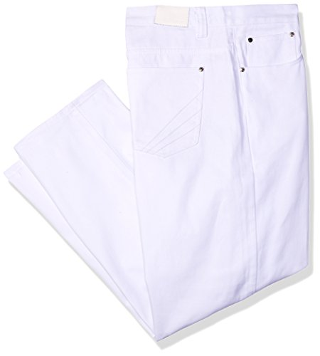 Akademiks Men's Cruise Jean,White,44x32