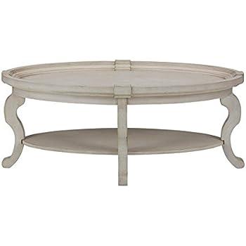 Etonnant Jofran Sebastian Oval Coffee Table In Antique Cream