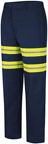 Red Kap Mens Enhanced Visibility Cargo Pant