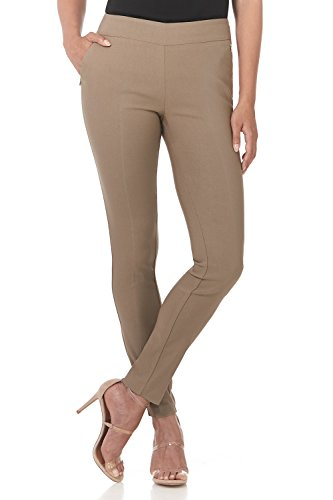 Rekucci Women's Ease in to Comfort Modern Stretch Skinny Pant w/Tummy Control - Pants Pocket 2