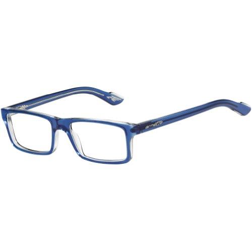 Arnette LO-FI AN7060 - 1130 Eyeglasses, TRASLUCENT BLUE Frame w/ Clear Demo Lens 47mm
