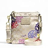 COACH Daisy Applique Swingpack / Crossbody Bag in Multi 48335