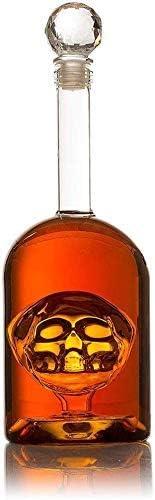 YZ-YUAN Whisky, Skull in Bottler Skull Head, Tequila, Bourbon ...