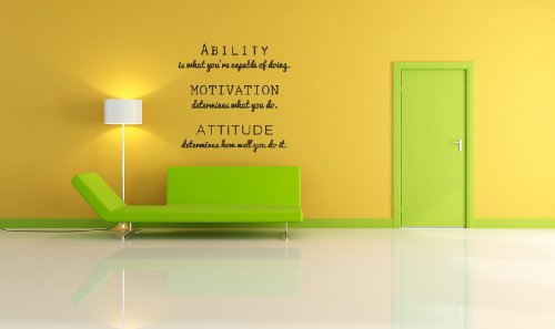 Inspirational Phrase Wall Decal