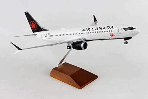 スカイマークSKR8279 エアカナダ ボーイング737Max8ニューフエ 1/100 模型 飛行機 航空機