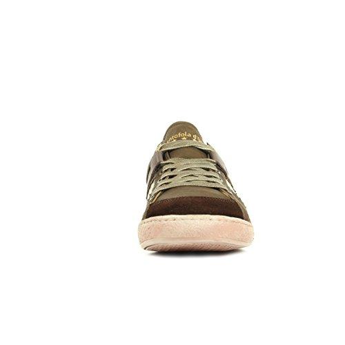 Basket Low d'Oro Uomo Pantofola Vecchio Savio 10163059EIU FSnY8801W