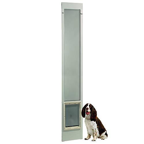 """Fast Fit Pet Patio Door 96"""" Extra Large (White)"""