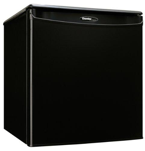 Danby DAR017A2 18 Inch Wide 1.7 Cu. Ft. Energy Star Free Standing Compact Refrig, Black (Danby Refrigerator Freestanding)