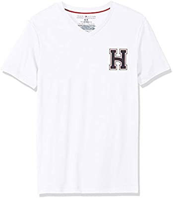Tommy Hilfiger T Shirts For Women XL, White: Amazon.ae