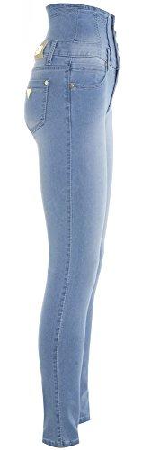 SS7 De para Vaqueros Color Claro Mezclilla mujer Azul r8rTw