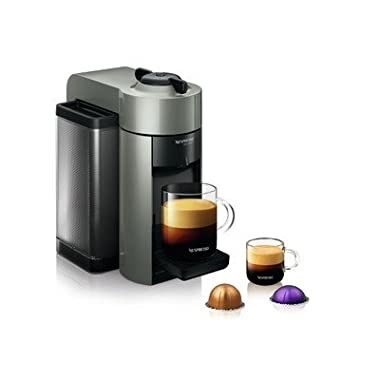 Nespresso GCC1-US-GR-NE VertuoLine Evoluo Coffee and Espresso Maker, Grey