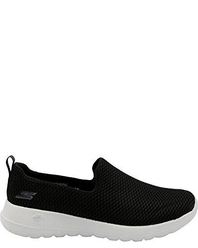 Skechers Kvinners Gowalk Glede Sneaker Svart / Grå