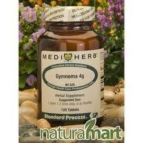 MediHerb Gymnema 4g 120 Tablets by Mediherb by Mediherb