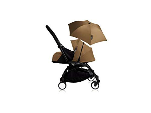 Babyzen Poussette YOYO+ 0+ (Cadre schwarz) Toffee et Son ombrelle