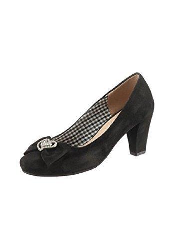 Zapatos de ante de Andrea Conti Noir - Noir