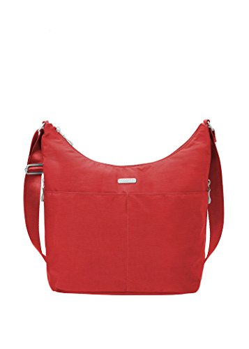 Baggallini Wristlet Crossbody Hibiscus Hobo Rfid with Spr4SqT