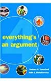 Everything's an Argument 4e and Portfolio Keeping 2e, Lunsford, Andrea A. and Ruszkiewicz, John J., 031238680X